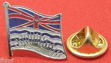British Columbia Country Flag Lapel Hat Cap Tie Pin Badge Colombie-Britannique