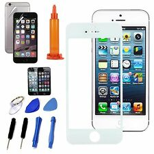 White Front Outer Screen Glass Lens Replacement Repair Tools For iPhone 7 Plus