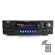 BLUETOOTH 200W DJ HOME THEATER DIGITAL STEREO RECEIVER AMP AMPLIFIER AM/FM iPOD