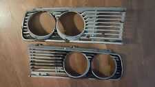 1986 bmw 524TD headlight grills left and right