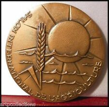 1980 MÉDAILLE BRONZE CGA SALON INTERNATIONAL AGRICULTURE ANIMALS