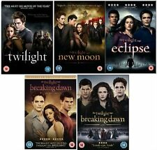 The Complete Twilight Movies 1 - 5 DVD Brand New Collection