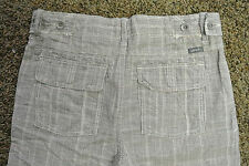 UNION Designer Board Shorts 32 NWT$129 HIGH END! Checkered! Linen Blend! Amazing