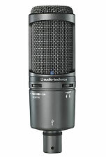 Audio technica at2020 usb + microphone à condensateur cardioïde