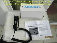 Telex 500T Electret Microphone 63333-000 aviation products and marine Brand New