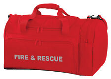 1 x FIRE & RESCUE Red Holdall/Work Bag Ideal for Emergency Services 2 Free Pens