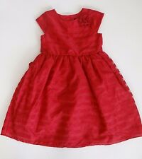 Girl's Party Prom Pageant Grad S/S Red Holiday Dress Sz 14 SALE