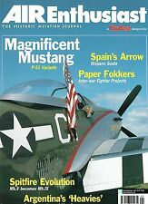 AIR ENTHUSIAST SEP-OCT 01: SPIT EVOLUTION V-IX/ MUSTANG PRODUCTION/ SAETA JET