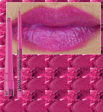 NYX TWIST UP LIP LINER PENCIL~ HOT PINK ~ DEEP MAGENTA PINK PURPLE ~ WATERPROOF