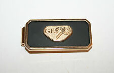 Vintage General Electric  GE90 Tie Bar/Tie Clip Executive Gift Gold Tone Rare!