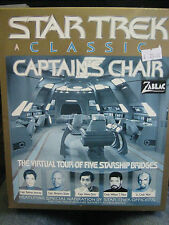 CLASSIC STAR TREK CAPTAIN'S CHAIR   WINDOWS / MAC / CD ROM  NEW