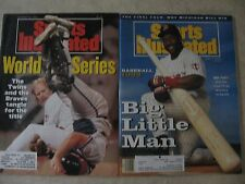 Sports Illustrated magazine back issues Twins - Kirby Puckett, Dan Gladden 1991