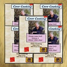 Cave Cooking: Wilderness and Survival Cooking DVD Library (5 DVD Set) /prepping