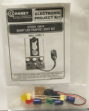 Chaney Electronics Giant LED Traffic Light Kit C6810 - NEW