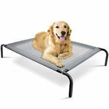 OxGord Elevated Dog Bed Lounger Sleeper Pet Cat Cot Portable for Indoor Outdoor