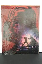 Vintage 1983 Star Wars ROTJ LIGHT SABER DUEL 11 X 14 Poster