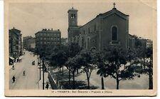 1931 Trieste San Giacomo Piazzale chiesa carrozza Guller Firenze FP B/N VG ANIM