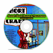 Short Wave Craft, Radio & Television 125 Classic Magazines Collection CD DVD B65