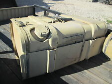 Used Fuel Tank, Military Vehicle, Aluminum w/Insulation & Fragment Res Coating