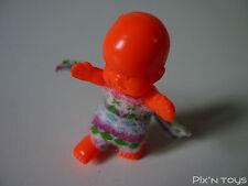 Les Babies / Figurine baby N°9 Zéphyrin boute en train - rouge