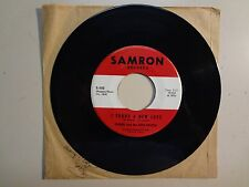 "OGNIR & THE NITE PEOPLE:I Found A New Love-All My-U.S.7"" 65 Samron Records S-102"