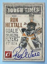RON HEXTALL 2010/11 DONRUSS TOUGH TIMES SIGNATURE AUTOGRAPH AUTO /250