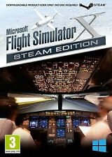 Microsoft Flight Simulator X Steam Edition with X Deluxe and Acceleration PC NEW