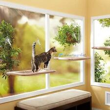 Cat Kitty Basking Window Hammock Hanging Shelf Seat Mounted Perch Cushion Bed DH
