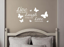 LIVE-LAUGH-LOVE-Quote-Vinyl-Decal-Removable-Art-Wall-Stickers-Home-Room-Decor