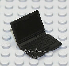 NEW Lego Minifig BLACK LAP TOP COMPUTER - Boy/Girl Minifigure School Accessory