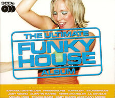 THE ULTIMATE FUNKY HOUSE ALBUM - 3 X CDS 36 UNMIXED TRACKS ! HED KANDI CD CDJ DJ