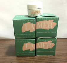 Lot of 4X NIB La Mer Creme De La Mer Moisturizing Cream 7ml each with bonus