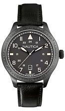 Orologio Nautica A11107G pelle nero uomo New collection Garanzia ufficiale 2015