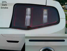 10-12 Mustang precut TailLight HeadLight-3rd brake & Side Marker smoked overlays