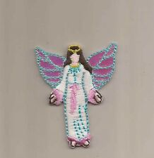 Angel Embroidered Iron-On Patch Applique 938806