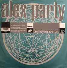 "ALEX PARTY - Don't Give Me Your Life (12"") (G-/G-)"