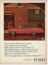 1964 Ford Galaxie 500/XL 2 dr Hardtop Ad/ Mayfield Fire Station No. 5