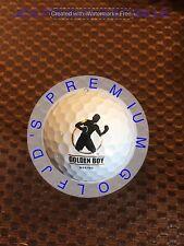 LOGO GOLF BALL-GOLDEN BOY BOXING........MINT PROV1X BALL