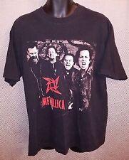 Metallica True Vintage On The Load Tour '96 Black Concert T-Shirt EUC - Adult XL