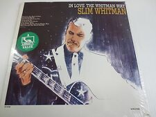 SLIM WHITMAN ~ IN LOVE THE WHITMAN WAY ~ FACTORY SEALED VINYL LP