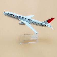 16cm Airplane Model Plane Air Japan JAL Airlines Boeing 777 B777 Aircraft Model
