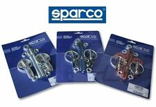 SPARCO HOOD PIN RACING STREET RACE SAFETY KIT 01606 100% AUTHENTIC ITALY RED