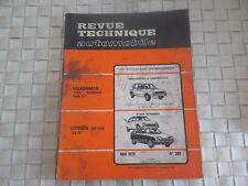 REVUE TECHNIQUE CITROEN GS 1130 et GS X3 BERLINE et BREAK