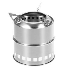 Outdoor Camping Picnic Metal Windproof Lightweight Stove Wood Alcohol Burning