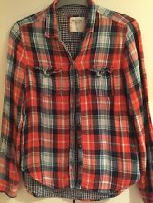 Abercrombie & Fitch Red Check Shirt