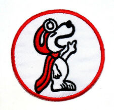 Snoopy Peanuts Dog Cartoon Motorcycle Car Racing Kids Jacket Shirt Iron on Patch