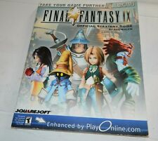 Brady Games Final Fantasy IX 9 Official Strategy Guide PS1 Playstation 1