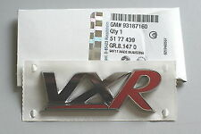 93187160 Genuine Vauxhall VXR Badge Chrome and Red All Models*New*