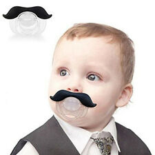 Funny Novelty The Gentleman Mustache Pacifier For Infants Newborns Boys & Girls