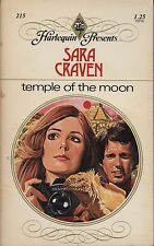 Temple Of The Moon Sara Craven 1977 Paperback Romance